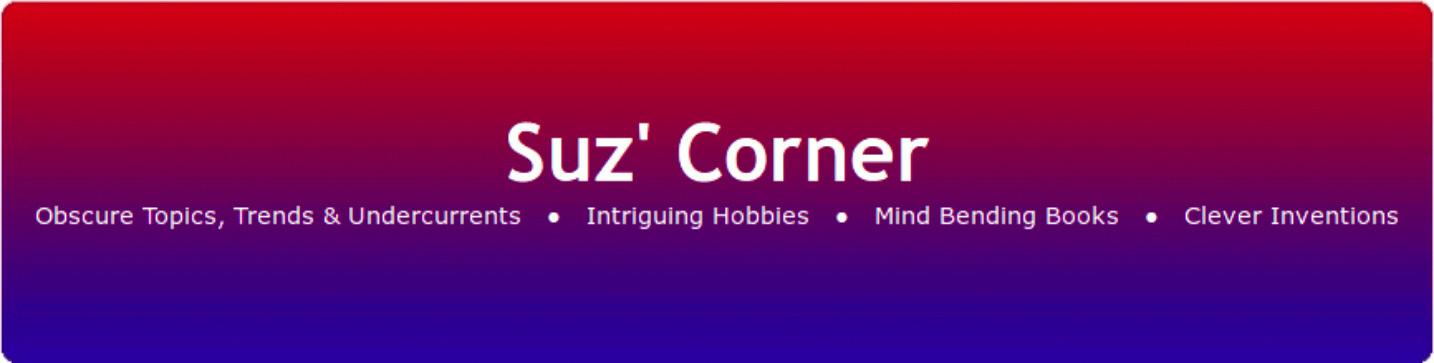 Suz' Corner banner header